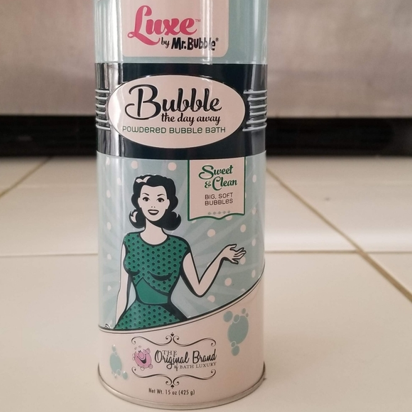 BRAND NEW- Luxe by Mr Bubble
